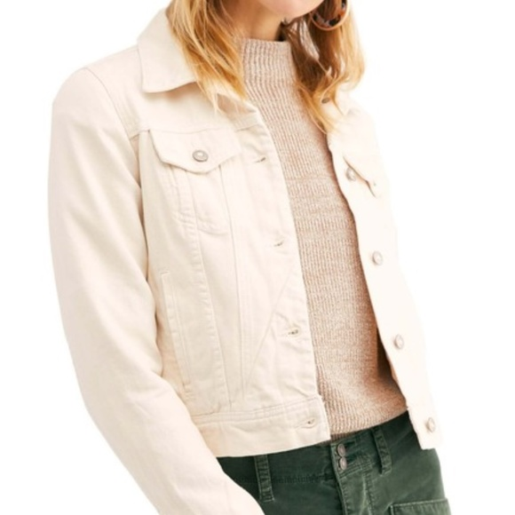 Free People Jackets & Blazers - NEW! Free People Rumors Denim Jacket